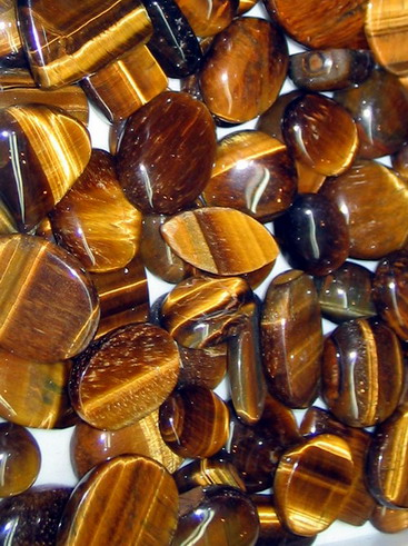 Polished Tiger Eye Gemstones