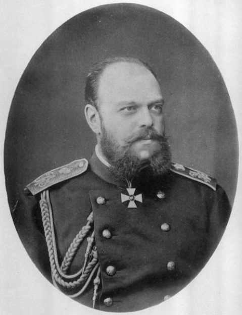 Photograph of Tsar Alexander III by Sergey Levitsky