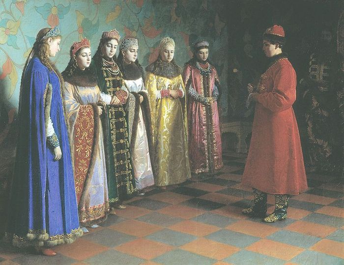 tsar-alexis-of-russia-choosing-his-bride