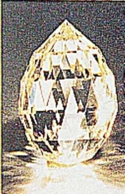 The 116.60-carat Vainer Briolette Diamond