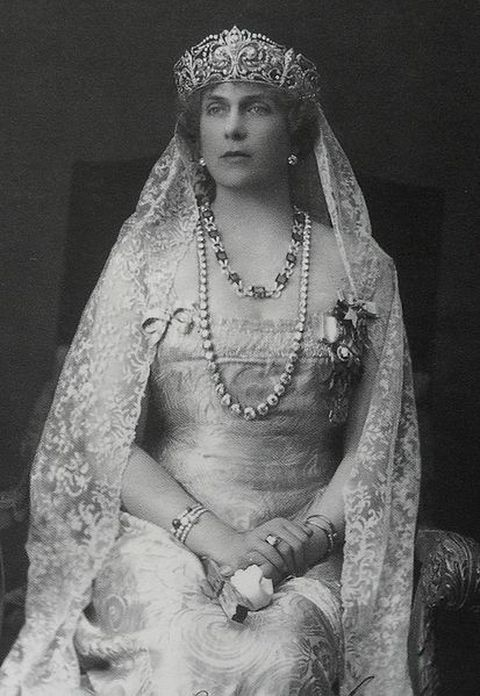 1922-Photograph of Victoria Eugenie of Battenburg - Wife and Queen consort of Alfonso XIII, king of Spain from 1886 to 1931