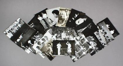Lot No: 318: 39 vintage black and white photographs of the Jackson 5