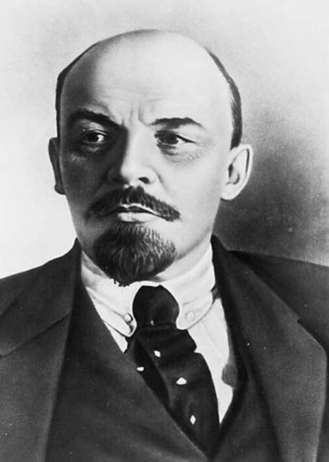 Vladimir Lenin, Head of the Communist Party and first president of the Soviet Union, who created the Russian State Diamond Fund, the custodian of the Russian Crown Jewels