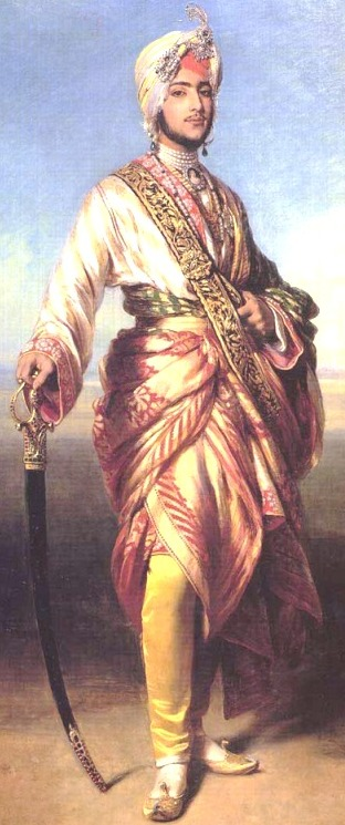 An 1854 Portrait of Maharajah Duleep Singh by Winterhalter