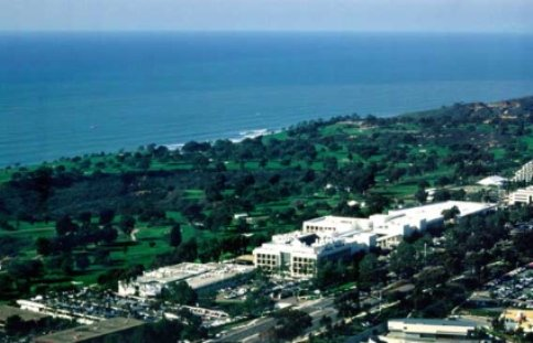 Aerial View of Scripps Research Institute, World's Largest Private Non-Profit Biomedical Research Organization
