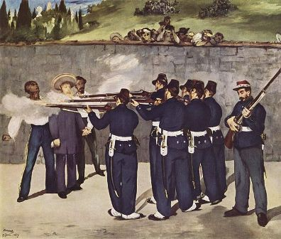 Execution of Emperor Maximilian of Mexico