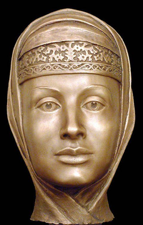 Forensic facial reconstruction of Marfa Sobakina by Sergei Nikitin