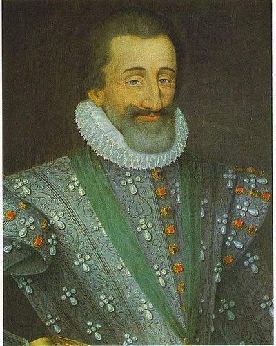 Henry IV, the first Bourbon monarch of France (1589-1610)