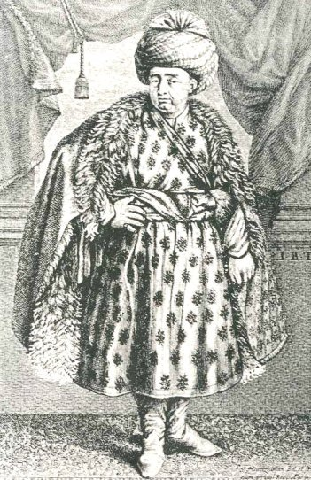 Jean-Baptiste Tavernier- Dressed in the robes of honor presented by Shah Abbas II of Persia.