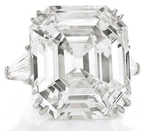Krupp diamond/Elizabeth Taylor diamond from the Christie's auction catalogue