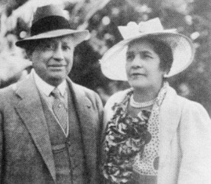 Simon Iturri Patiño and his wife Albina Rodriguez