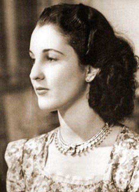 The Young Princess Faiza of Egypt