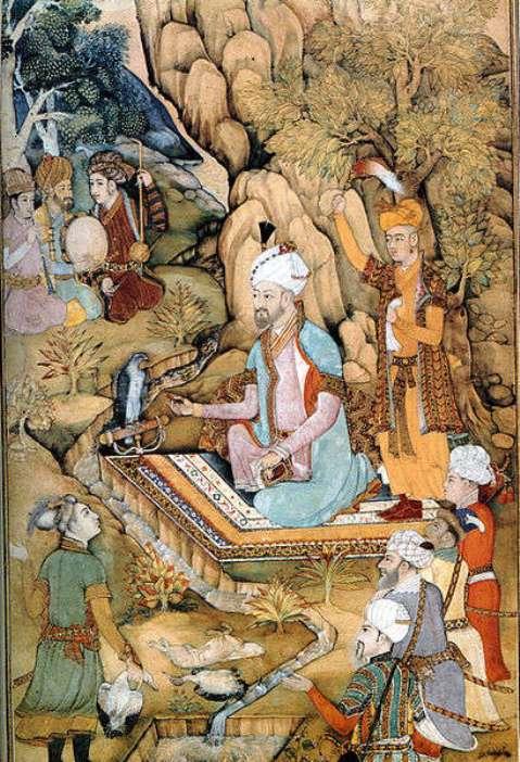 Zahir-ud-Din Muhammad Babur - The first Mughal Emperor (1526-1530)